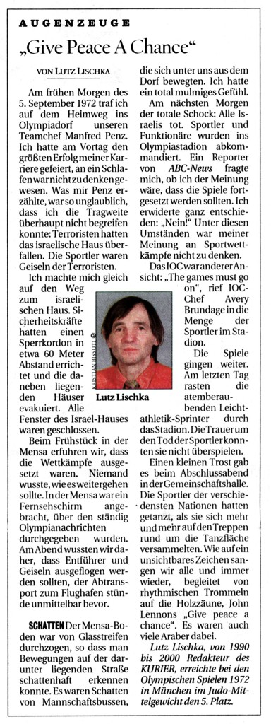 Veröffentlicht im KURIER, September 2006